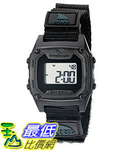 [106美國直購] Freestyle 手錶 Unisex 10022928 B00TYE8RC6 Shark Leash Mini Digital Japanese Quartz Black Watch