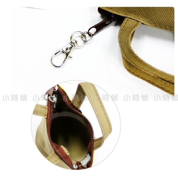 ☆小時候創意屋☆ 正版授權 黃 航海王 海賊王 手提 造型 小 零錢包 吊飾 鑰匙圈 禮物