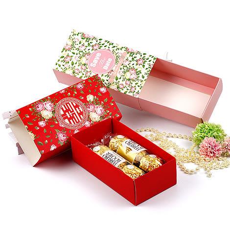 幸福婚禮小物❤DIY抽屜式禮物盒❤迎賓禮/二次進場/活動小禮物/送客禮/喜糖盒
