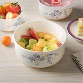 大號骨瓷保鮮碗帶蓋飯盒泡面碗陶瓷碗家用微波爐組合便當碗三件套