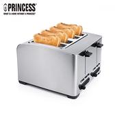 【PRINCESS 荷蘭公主】不鏽鋼四片烤吐司機 142397+ART01