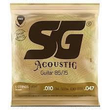 凱傑樂器 SG STRING  黃銅 木吉他弦/包 內多附第一弦 CUSTOM LIGHT