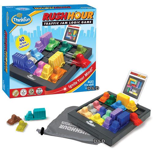 《美國Think Fun》塞車時刻 Rush Hour  ╭★ JOYBUS玩具百貨