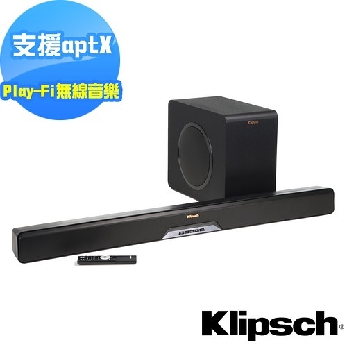 全新商品特價【美國Klipsch】2.1聲道單件式環繞SoundBar RSB-14