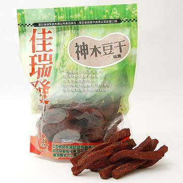 【佳瑞發‧神木豆干/小包裝】簡單呈現台灣豆乾的溫醇口感。純素