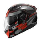 ZEUS 瑞獅安全帽,ZS-1600,AK3透明碳纖/紅