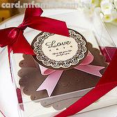 婚禮小物 - 收藏幸福.杯蓋杯墊組禮盒 - 姊妹禮/送客禮/抽獎遊戲禮物 幸福朵朵