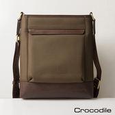 【Crocodile】Neat系列直式斜背包 0104-690102