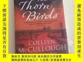 二手書博民逛書店The罕見Thorn Birds ( 荊棘鳥 英文版國內印刷)