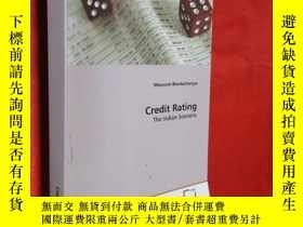 二手書博民逛書店Credit罕見Rating: The Indian Scena