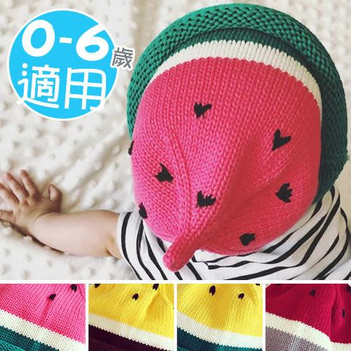 尖頂毛線帽寶寶帽西瓜頭兒童針織帽帽子.毛帽編織帽防寒保暖帽嬰兒帽秋冬男女配件專賣店哪裡買