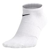 Nike Socks [SX4790-101] 男 踝襪 短襪 運動 柔軟 乾爽 精製棉 緩震 基本款 白