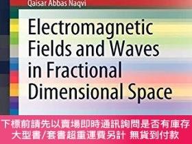 二手書博民逛書店Electromagnetic罕見Fields And Waves In Fractional Dimension