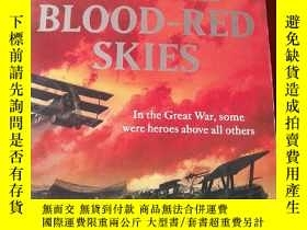 二手書博民逛書店ACROSS罕見THE BLOOD --RED SKIES 外文原版Y14850 出版2010