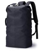 大容量雙肩包旅行包潮休閒登山包男士帆布背包輕便戶外旅游運動包