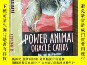 二手書博民逛書店Power罕見Animals Oracle CardsY19139 Steven Farmer PhD Hay