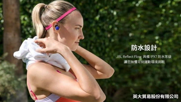 平廣 送袋 JBL Reflect Flow 黑色 耳機 真無線 台灣公司貨保1年 耳道式 快充 最長續30小時