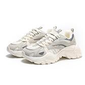 FILA 休閒鞋 INTERATION 老爹鞋 情侶款 厚底 增高 復古 奶茶灰 女 (布魯克林) 4C602U920