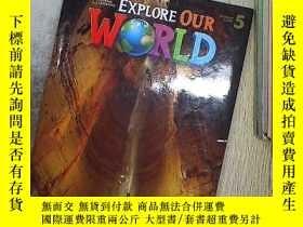 二手書博民逛書店EXPLORE罕見OUR WORLD 5 探索我們的世界5Y20