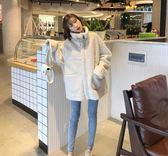 棉衣服2018新款韓版學生寬松高領加厚羊羔毛絨外套女潮