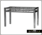 {{ 海中天休閒傢俱廣場 }} C-99 摩登時尚 餐桌腳系列 486-19 方管富貴餐桌腳/電鍍腳