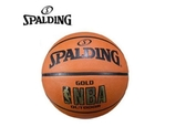 SPALDING  藍球  NBA-Rubbe 七號  室外  橘 金 【運動世界】SPA83013