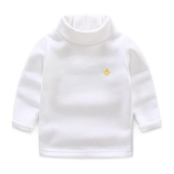 超低折扣NG商品~中大童保暖加絨T恤 兒童長袖上衣 高領衫 童裝 QY6373 好娃娃