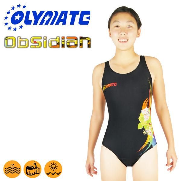 OLYMATE Obsidian 專業競技版女性泳裝