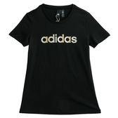 Adidas GFX SS T LINEAR  短袖上衣 DM5347 女 健身 透氣 運動 休閒 新款 流行