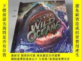 二手書博民逛書店英文原版:Wild罕見Oceans: A Pop-up Book