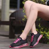 跑步鞋 夏季鏤空透氣女網面運動鞋跑步鞋韓版低筒休閒網布鞋學生單鞋網鞋【韓國時尚週】