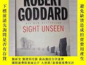 二手書博民逛書店英文原版罕見Sight Unseen by Robert God
