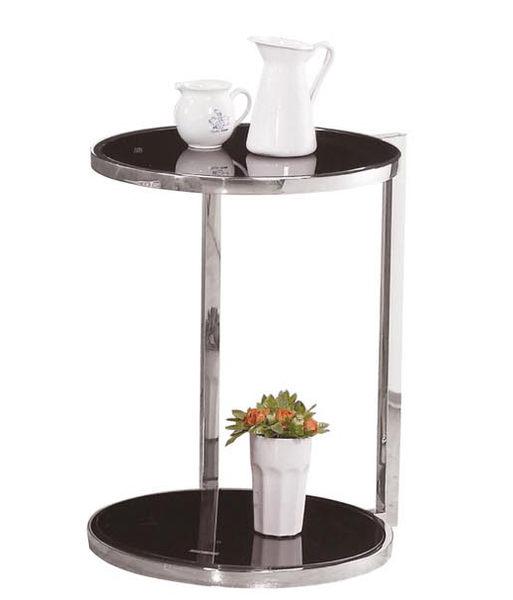 【森可家居】薩里不鏽鋼小圓几 7ZX472-11 小茶几 邊几 花盆裝飾置物架