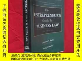 二手書博民逛書店The罕見Entrepreneur s Guide to Business Law (小16開) 【詳見圖】Y