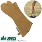 [LOGOS]  BBQ專用皮手套 單隻 (LG81062204)