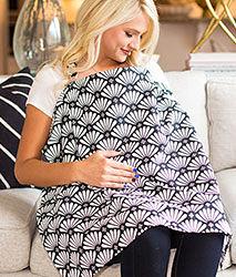 iae創百市集 美國Mothers Lounge Udder Cover 美型哺乳巾/哺乳遮罩-日本菊花