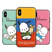 Pochacco 帕恰狗 防摔掀蓋卡夾 手機殼│S7 Edge S8 S9 S10 Note5 Note8 Note9 A7 A8 A9 2018│z9000