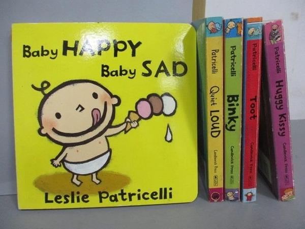 【書寶二手書T1/少年童書_NCK】Baby Happy Baby Sad_Binky_toot等_共5本合售