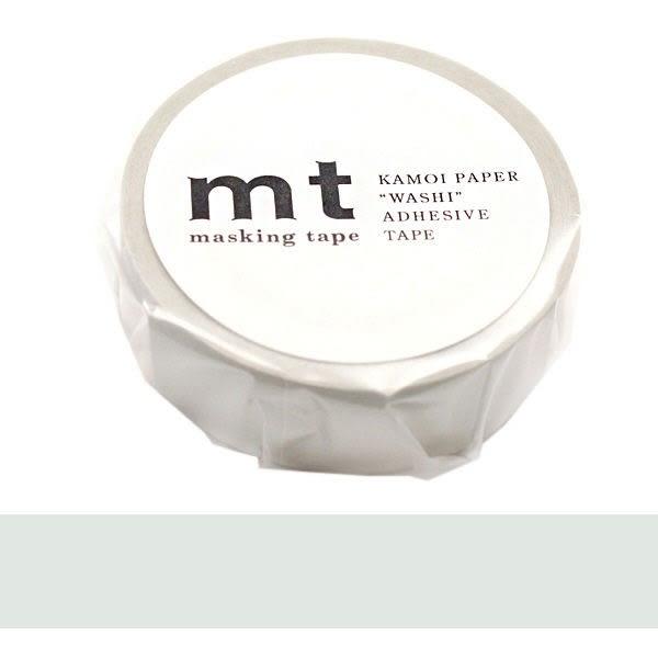 日本mt Masking Tape 和紙膠帶 柔和灰色 15mm