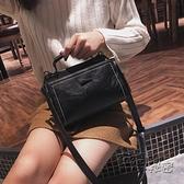 手提包 新款冬季小包包韓版潮復古手提小方包時尚百搭單肩斜背包女包 衣櫥秘密