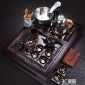 全自動一體功夫茶具套裝家用整套泡茶陶瓷辦公室公司禮品定制送禮HM 3C優購