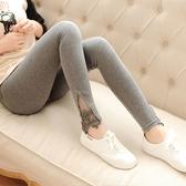 孕婦打底褲2018春秋新款薄款外穿褲子長褲春季托腹褲腰圍可調節