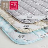 床墊1.8m床褥子榻榻米墊被1.5米單人保護墊子雙人防滑學生宿舍 QQ10592『bad boy時尚』
