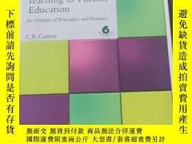 二手書博民逛書店Teaching罕見in Further Education A