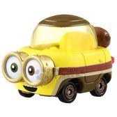 〔小禮堂〕小小兵 Bored Silly Bob TOMICA小汽車《黃.MMC04》公仔.玩具.模型 4904810-13142