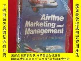 二手書博民逛書店Airline罕見Marketing and Managemen
