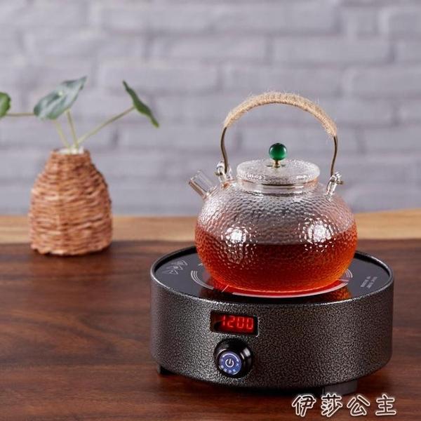 迷你電陶爐 茶爐電陶爐迷你小型鐵壺煮茶器智慧泡茶電磁爐家用光波爐YYJ 伊莎公主