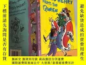 二手書博民逛書店Horrid罕見Henry Meets the Queen可怕的 亨利遇見了女王 。,Y200392