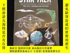 二手書博民逛書店星際迷航星際戰船設定集Star罕見Trek Designing