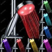 光療花灑 led花灑 七彩噴頭溫控手持花灑 熱水器浴室噴頭溫控三色節水 二度3C 99免運